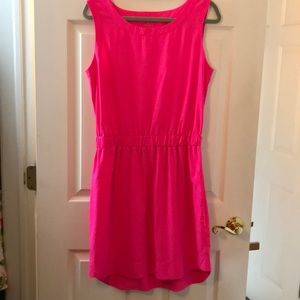 Pink athleta dress.  Medium